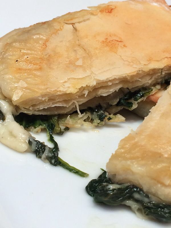 SPINACH AND GOAT'S CHEESE PARCELS