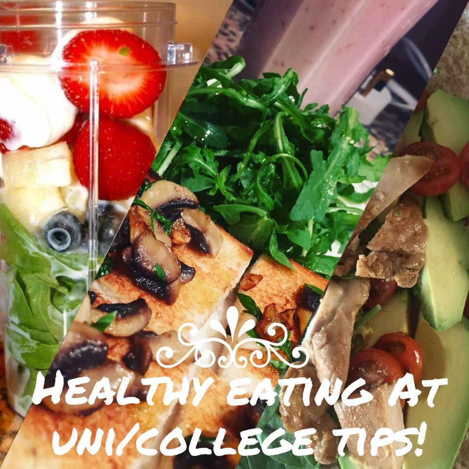 BACK TO UNI SERIES (2)- AFFORDABLE AND CONVENIENT TIPS FOR HEALTHY EATING AT UNI!
