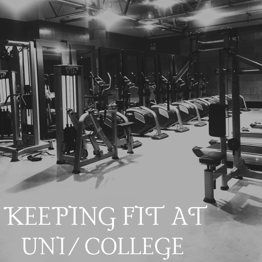 BACK TO UNI SERIES (3)- KEEPING FIT