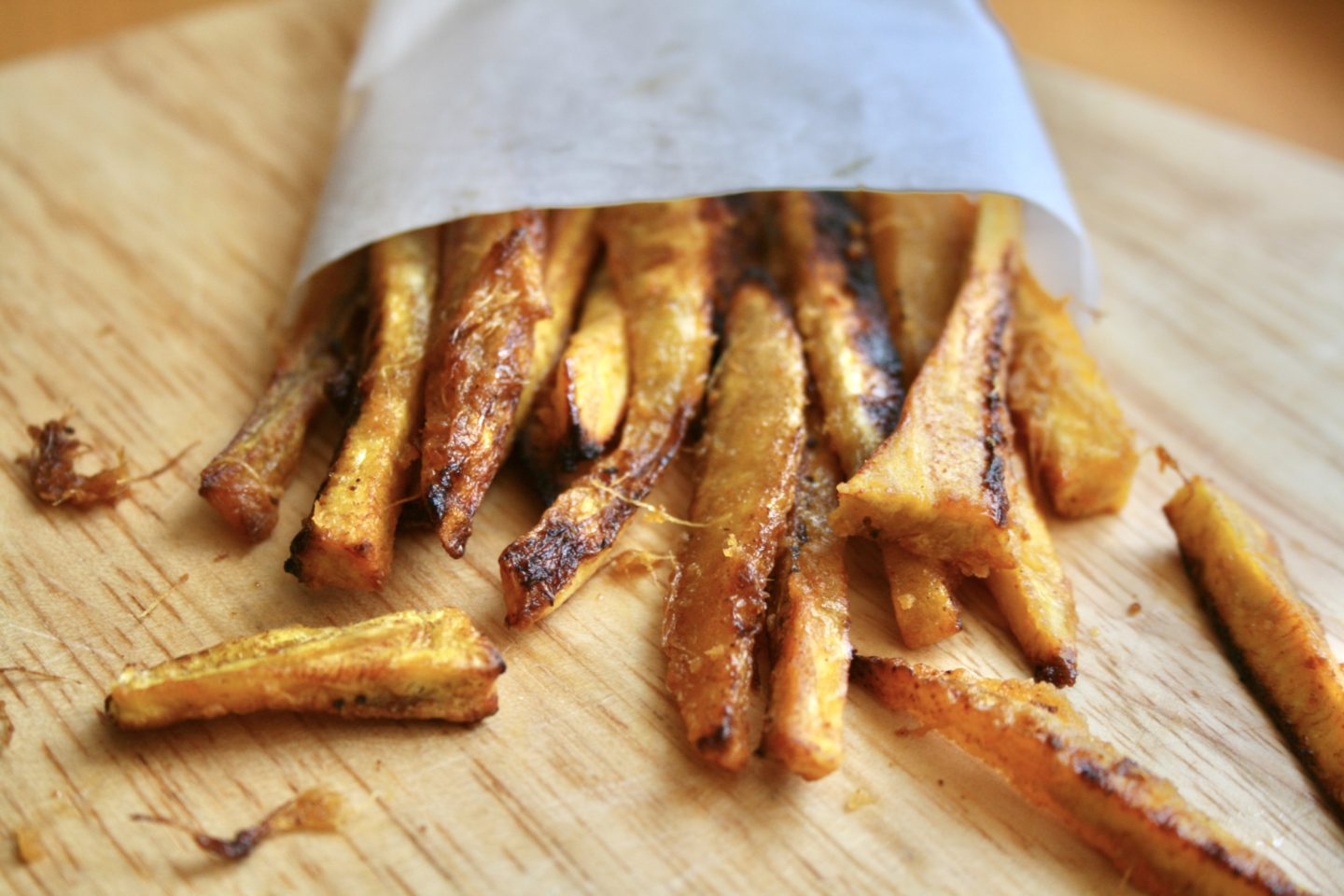 BAKED KELEWELE (PLANTAIN) FRIES! (UPDATED RECIPE)