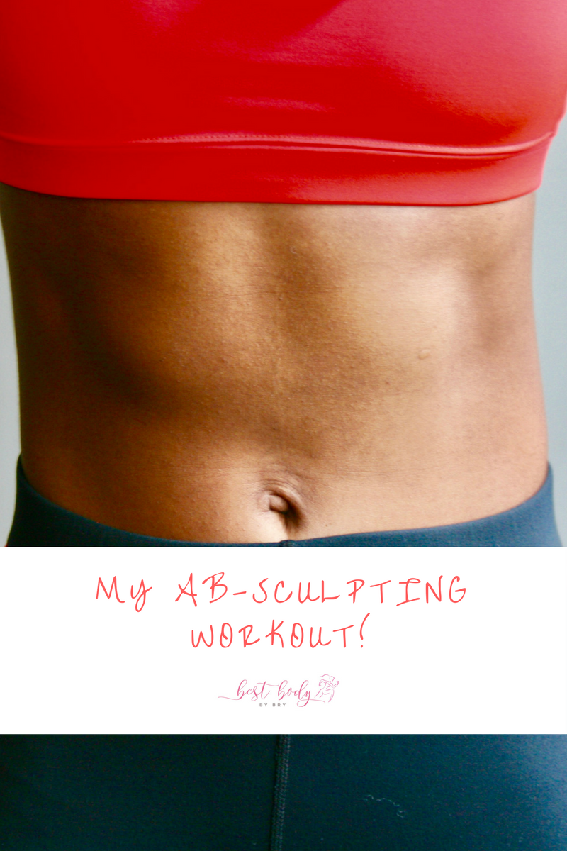 MY AB-SCULPTING WORKOUT!