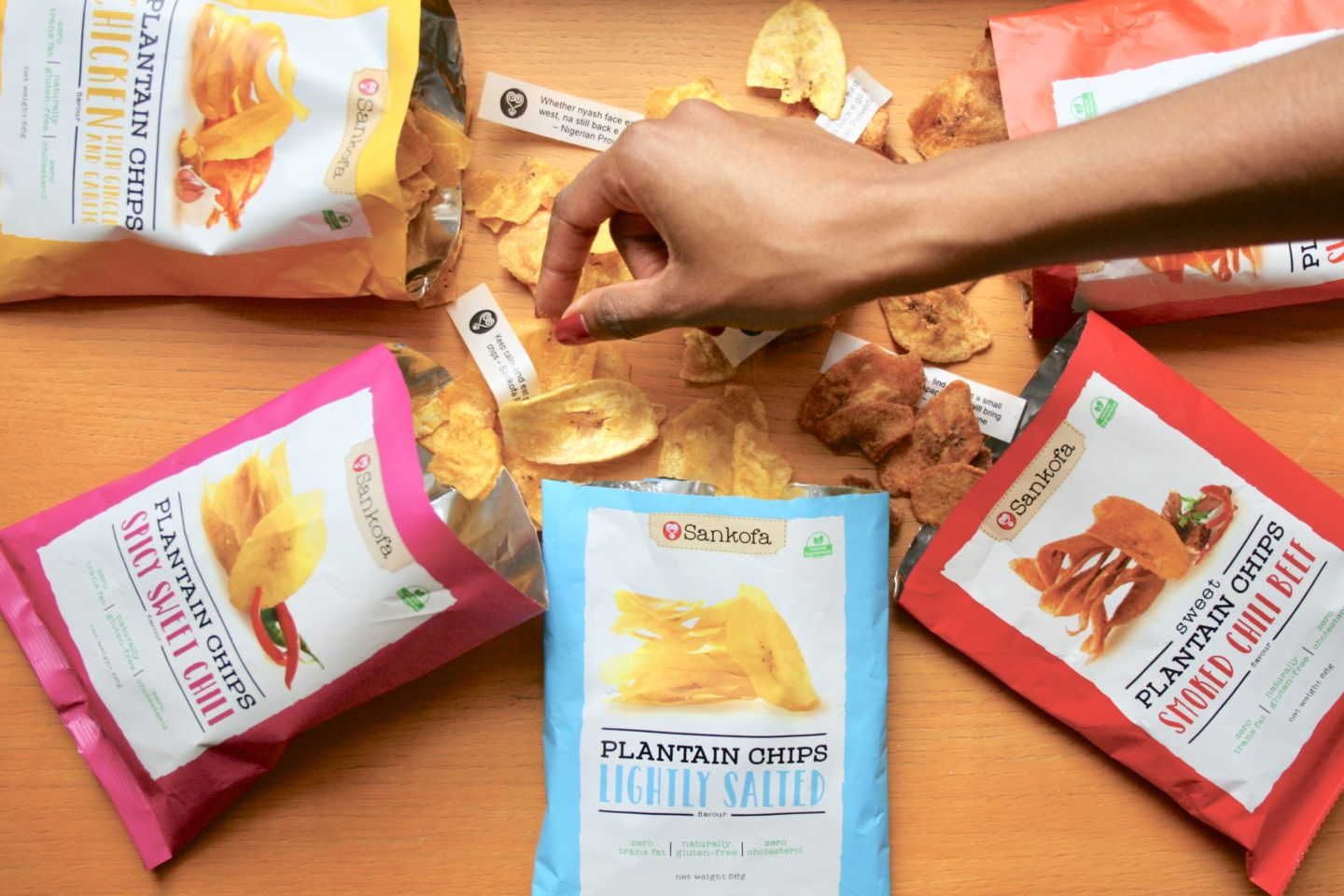 MUNCHING MADNESS! SANKOFA PLANTAIN CHIPS!